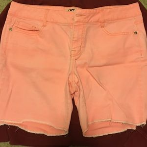 🎈2/$10! Juniors' LEI 'Ashley' lowrise shorts 🎈